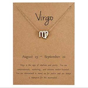 Jewelry - NEW!! ♍️ Virgo zodiac sign necklace